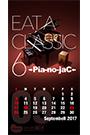 「EAT A CLASSIC 6」記念カレンダー9月